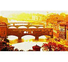 'Ponte Vecchio' Photographic Print