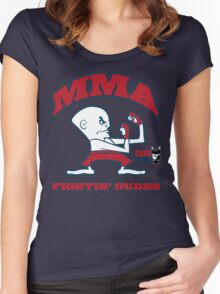 Fightin' Dudes Women's Fitted Scoop T-Shirt
