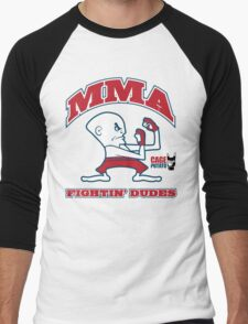 Fightin' Dudes Men's Baseball ¾ T-Shirt