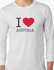 I ♥ AUSTRIA Long Sleeve T-Shirt