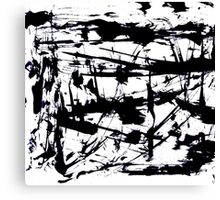 Ink blots Canvas Print