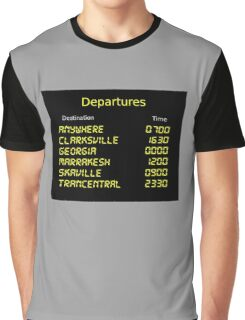 Song Trains Graphic T-Shirt