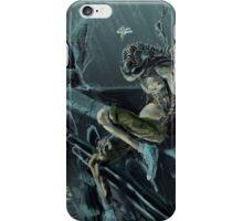 Trilobite Boy in the Rain iPhone Case/Skin