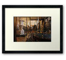 Enlightenment Room: A Gentleman's Library II Framed Print