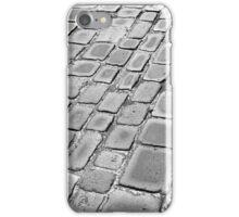 Cobbles after rain iPhone Case/Skin