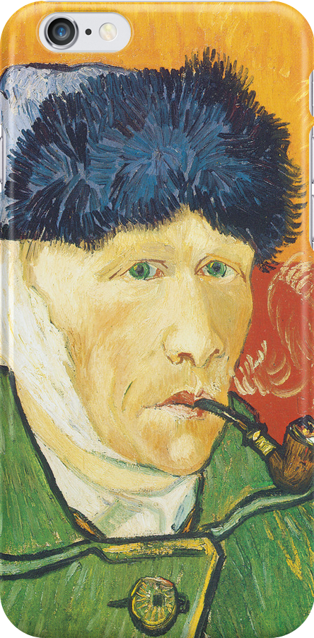 Van Gogh iPhone 5 Case - Self-Portrait with Bandaged Ear  by VanGoghCases