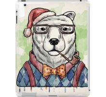 Dapper Christmas Bear iPad Case/Skin