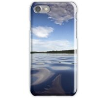 Calm lake iPhone Case/Skin