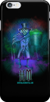 """Haunted Mansion """"Hatbox Ghosts"""" iPhone 5 cover by Topher Adam for Hugs & Bitchslaps by TopherAdam"""