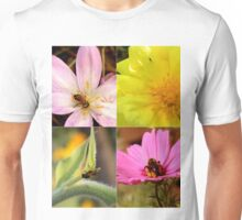 Insects on Flowers Unisex T-Shirt