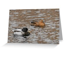 Cold Floaters  Greeting Card