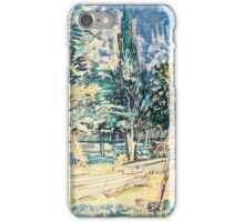 Van Gogh iPhone 5 Cases - Stone Steps in the Asylum Garden iPhone Case/Skin