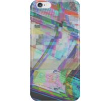 Glitch art 1/6 iPhone Case/Skin
