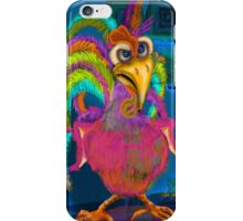 Night Shift Rooster, by Alma Lee iPhone Case/Skin