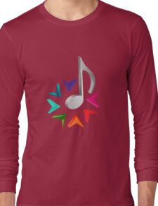 MUSIC TIME Long Sleeve T-Shirt