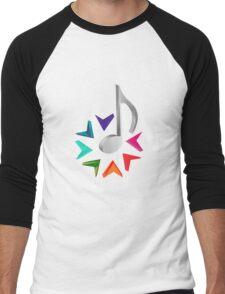 MUSIC TIME Men's Baseball ¾ T-Shirt