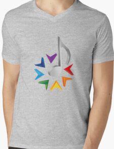 MUSIC TIME Mens V-Neck T-Shirt