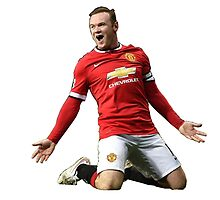 wayne rooney by agassa24