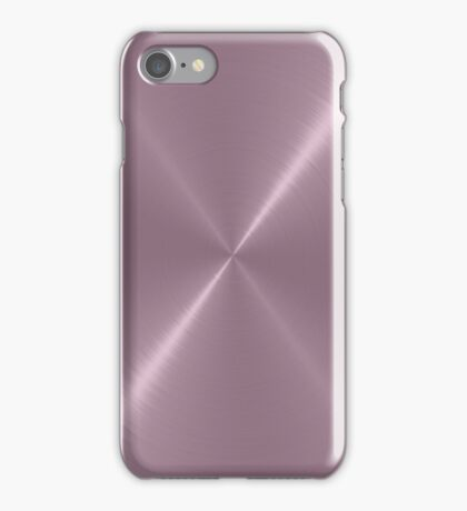 Cool Stainless Shiny Steel Metal iPhone Case/Skin