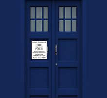 Tardis - Time And Relative Dimension In Space - (iPhone) by Adam Angold