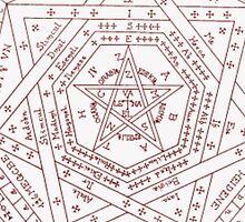 Devil's Trap Case by melimo22
