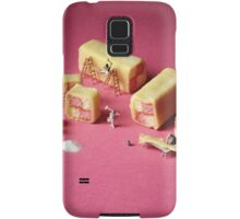 Battenberg builders Samsung Galaxy Case/Skin