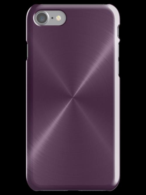 Purple Stainless Shiny Steel Metal by Nhan Ngo