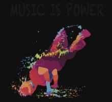 MUSIC IS POWER Kids Tee