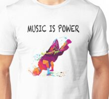 MUSIC IS POWER Unisex T-Shirt