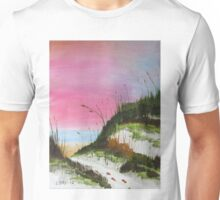 White Sandy Beach Unisex T-Shirt