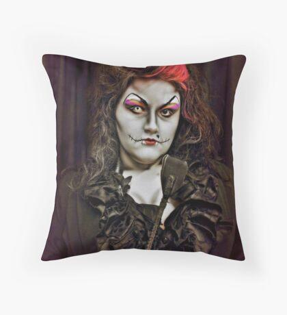 Dominatrix Throw Pillow