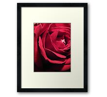 Depths of Velvet Framed Print