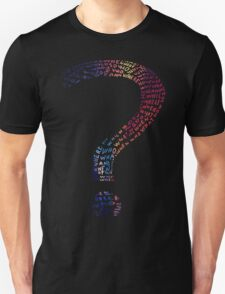 Question mark graphic T-Shirt T-Shirt