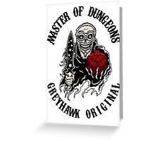 Master of Dungeons - Greyhawk Original Greeting Card