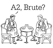 A2, Brute? Photographic Print