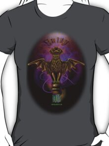 Haunted Mansion Bat Stanton Design by Topher Adam T-Shirt