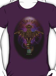 Haunted Mansion Bat Stanton Design by Topher Adam T-Shirt