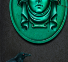 Madame Leota, the spirit we all know and love from the Haunted Mansion by Topher Adam Sticker