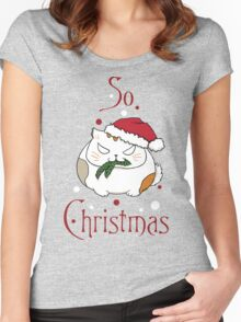 So Christmas Women's Fitted Scoop T-Shirt