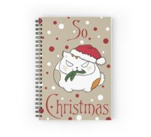 So Christmas Spiral Notebook