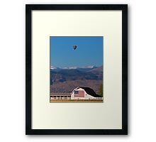 America The Beautiful The Banner Of The Free Framed Print