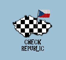 Awful pun - The Check Republic Womens Fitted T-Shirt