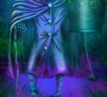 Haunted Mansion Hatbox Ghosts by Topher Adam Sticker