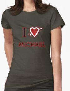i love Michael heart  T-Shirt