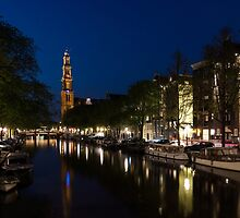 11:05PM Blue Hour - Magical Amsterdam in June by Georgia Mizuleva