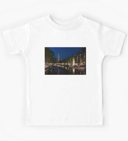 11:05PM Blue Hour - Magical Amsterdam in June Kids Tee