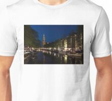 11:05PM Blue Hour - Magical Amsterdam in June Unisex T-Shirt