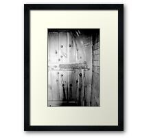 a35)gross weight Framed Print