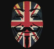 Anonymous Union Jack   by Thomas Jarry