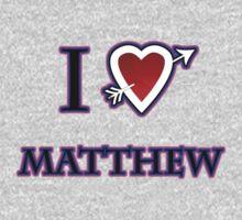 i love matthew heart  One Piece - Long Sleeve